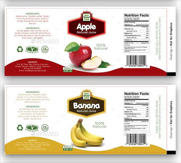 10ml Bottle Label Template