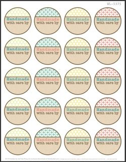 Round labels ideas on Pinterest