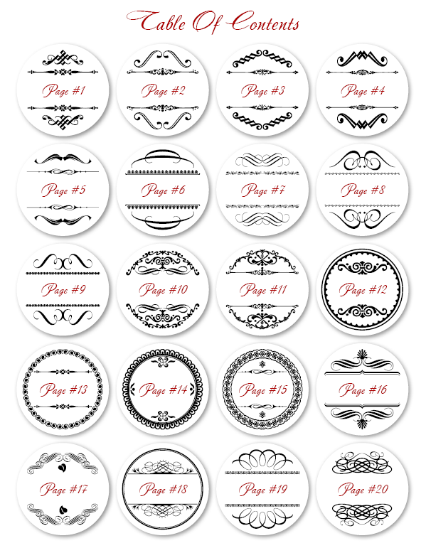 2 Round Label Template