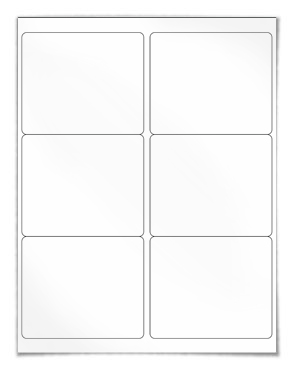 6 Label Template