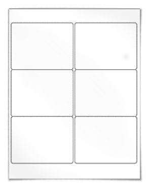 6 Label Template Word