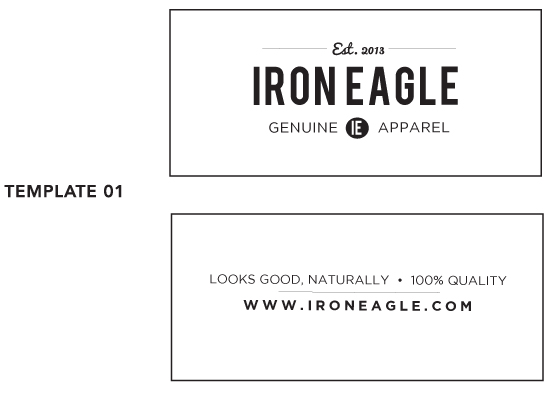 Clothing Label Template