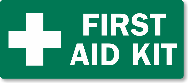 First Aid Label Printable