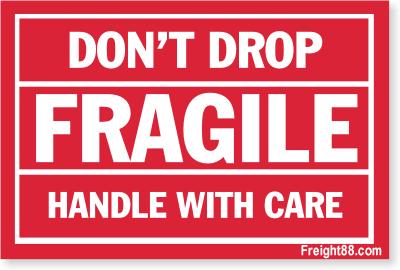 Printable Fragile Label Printable