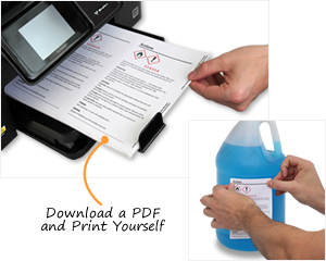 Free GHS Labels | Customize Your GHS Label and Print for Free