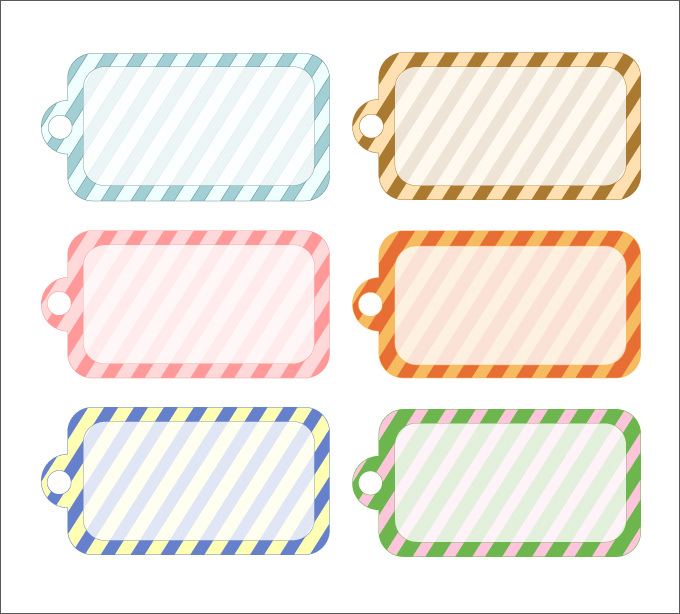 Christmas gift labels templates