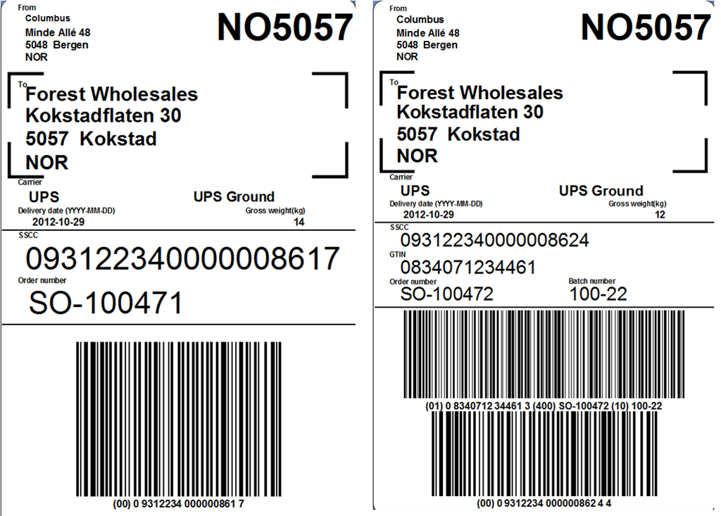 How to generating GS1 128 barcodes Supply chain Tutorial Labeljoy