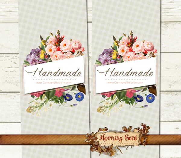 Best Handmade Soap Label Template images