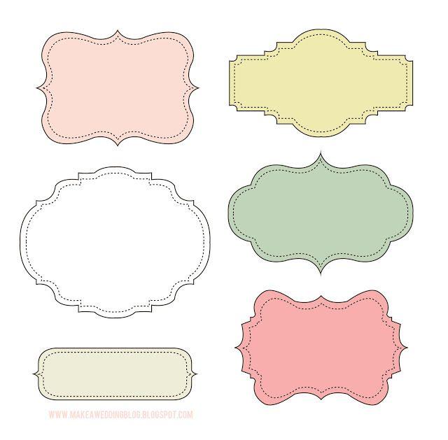 25+ unique Printable labels ideas on Pinterest | Chalkboard labels