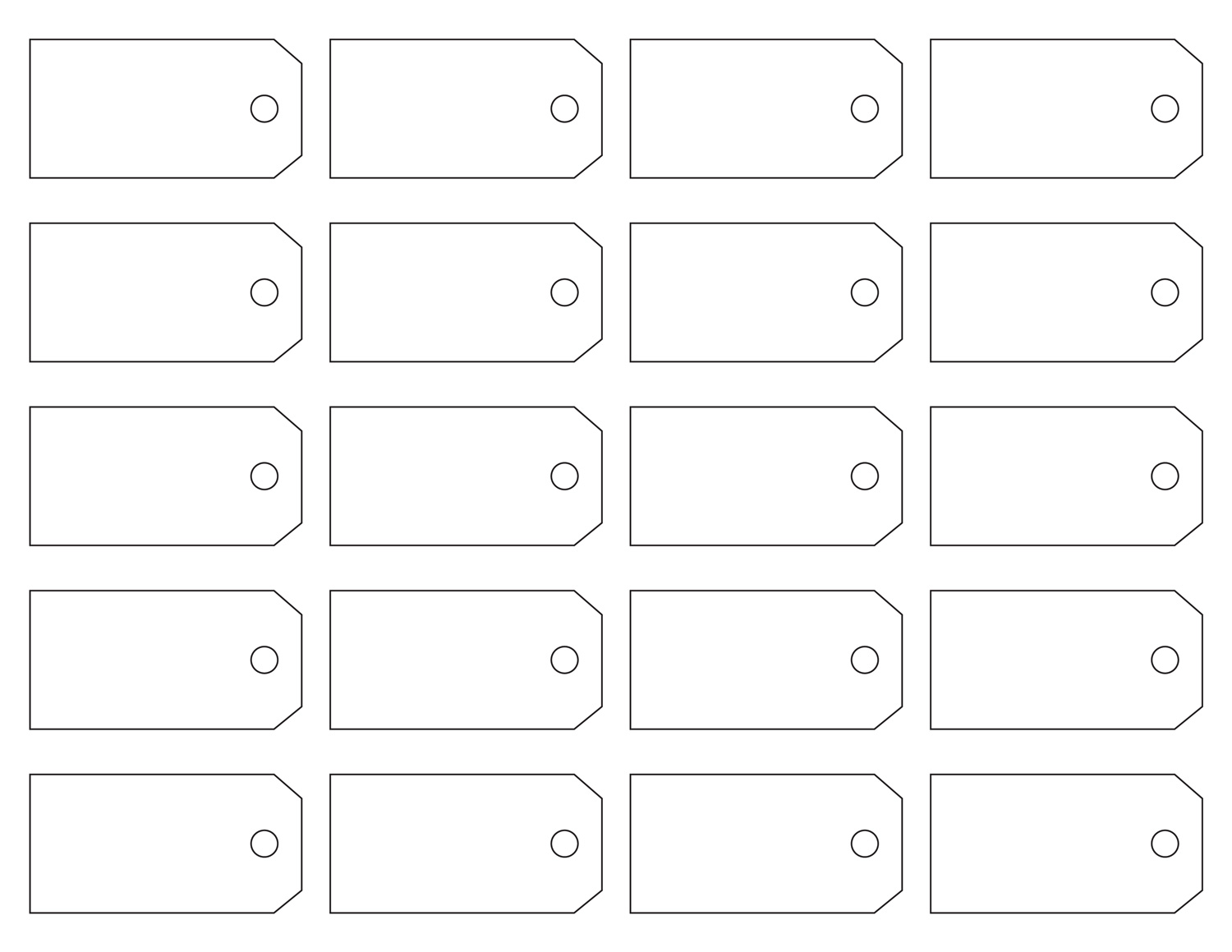 Label Tag Template