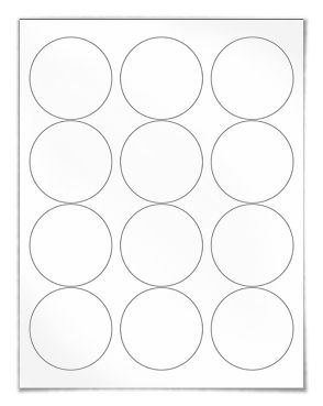 12 Labels Per Sheet 105 x 49 100 pack