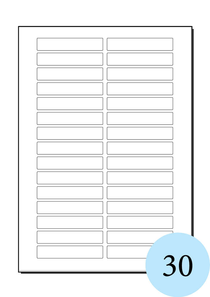 Download Label Templates 21 Per Sheet