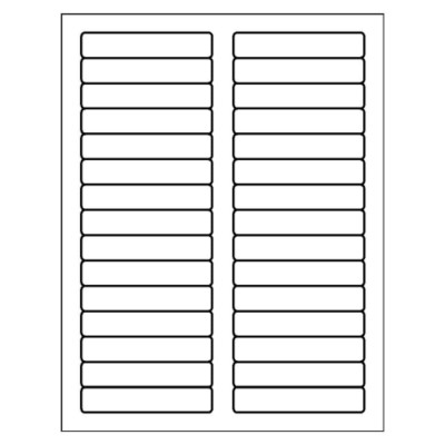 Label Template 30 Per Page