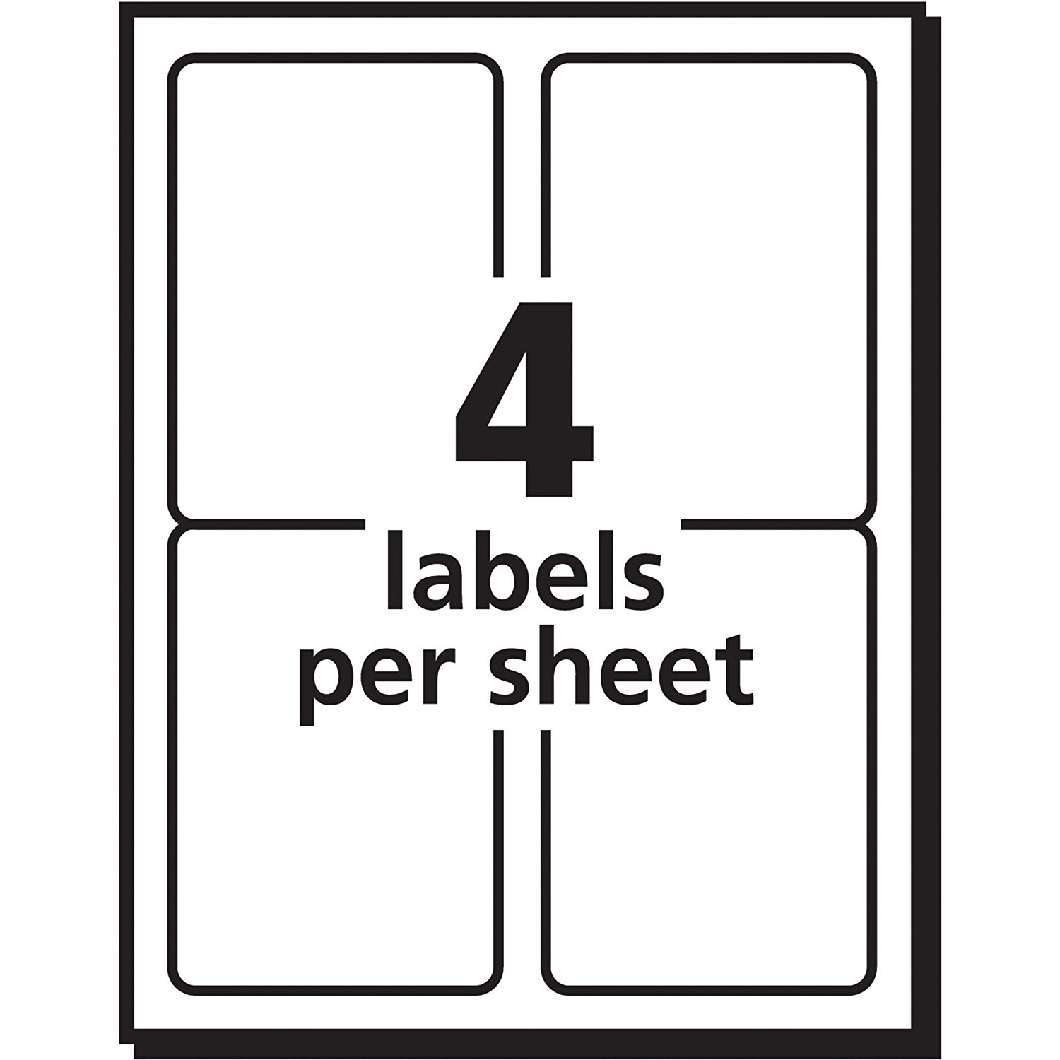 Shop Labels By Size! Find The Exact Label Size With Ease