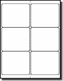 Free Label Template 6 Per Sheet