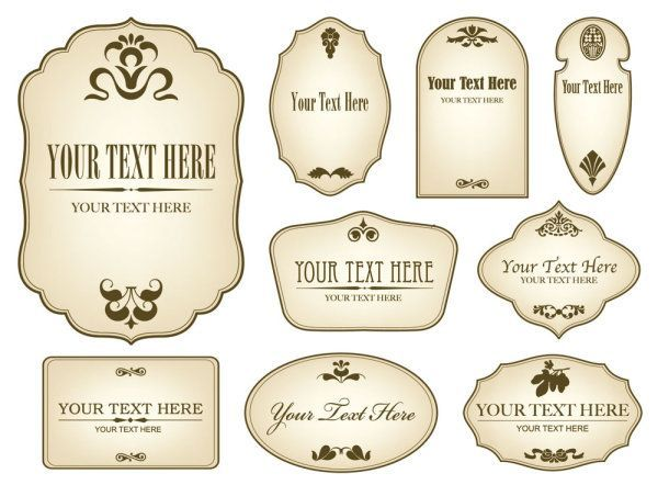 Free Label Templates Free Word, PSD, PDF Format Download