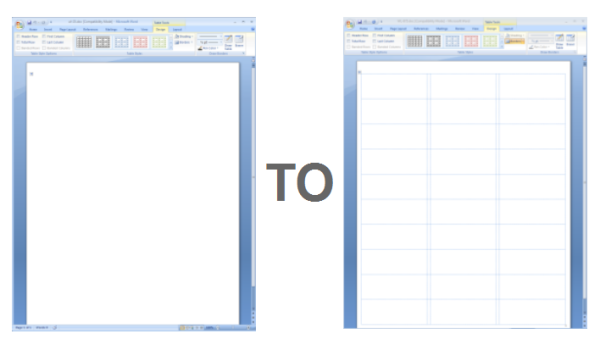 Label Template In Word