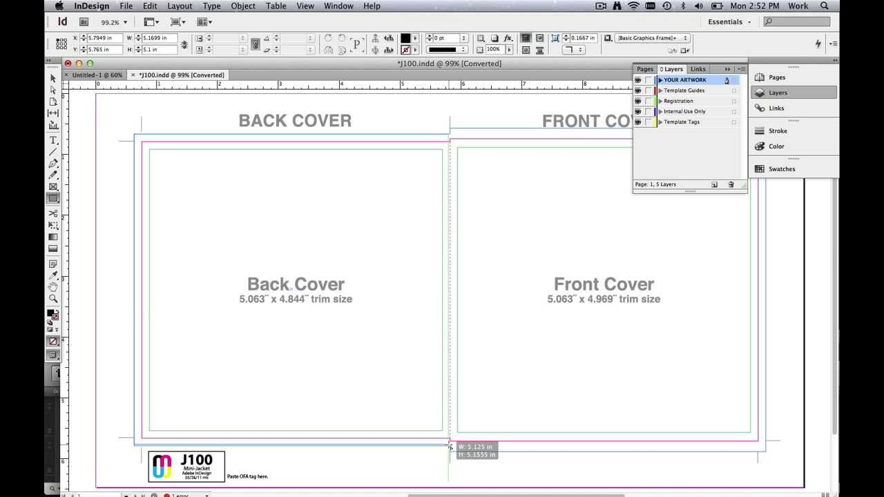 Label Template Indesign