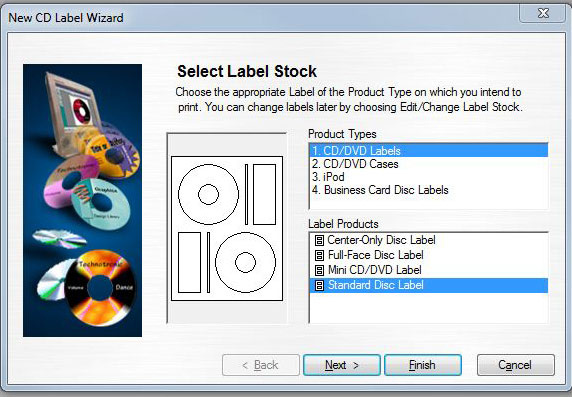 download CD Label Template Maker