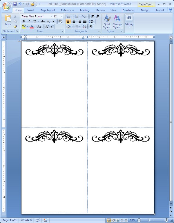 Label Templates for Microsoft Word, PDF, Maestro Label Designer