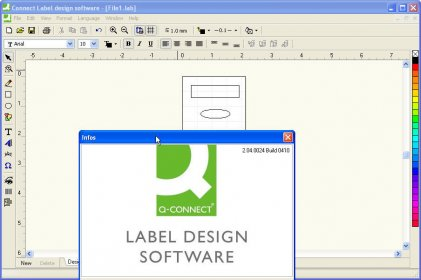 Connect Label design Software Informer. Create different