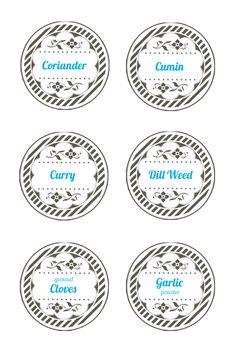 unique Round labels ideas