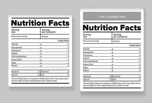 Nutrition Label Template Word, Free PSD, EPS, AI, Illustrator Format