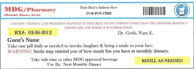 Invite and Delight: February 2012