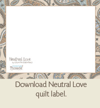 A Quick Quilt Label Method The Quilting Company