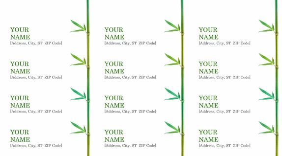 Creating Custom Fancy Address Labels in LibreOffice | Worldlabel Blog