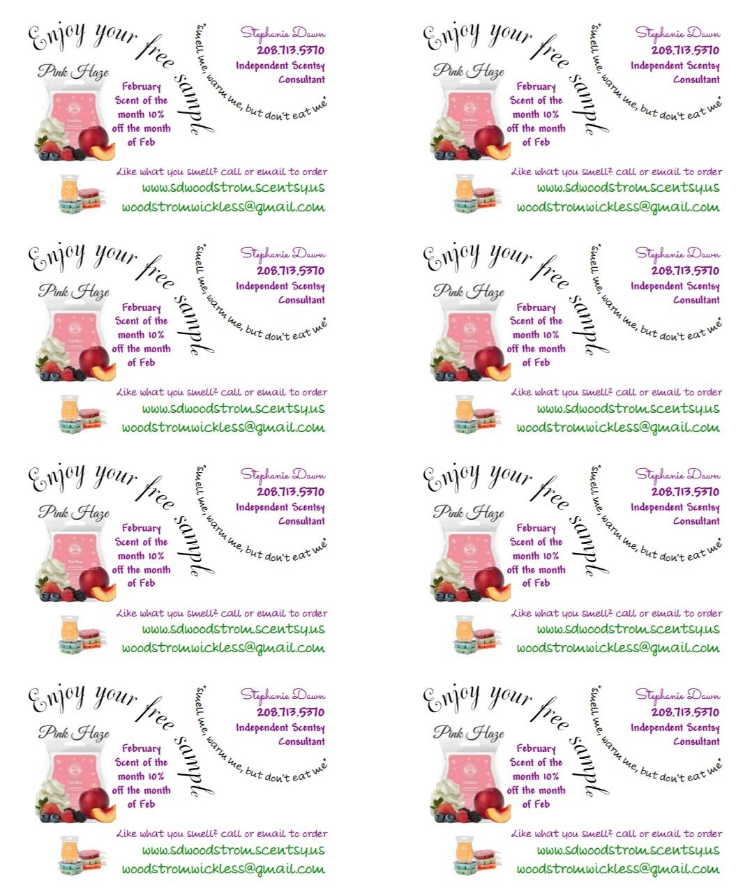 Scentsy Marketing Templates to Grow Your Direct Sales Business