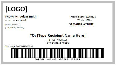 USPS Shipping Label Template Free Printables Download!!