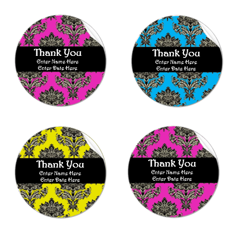 Thank You Label Template Free