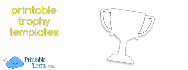 Free Printable Trophy Template