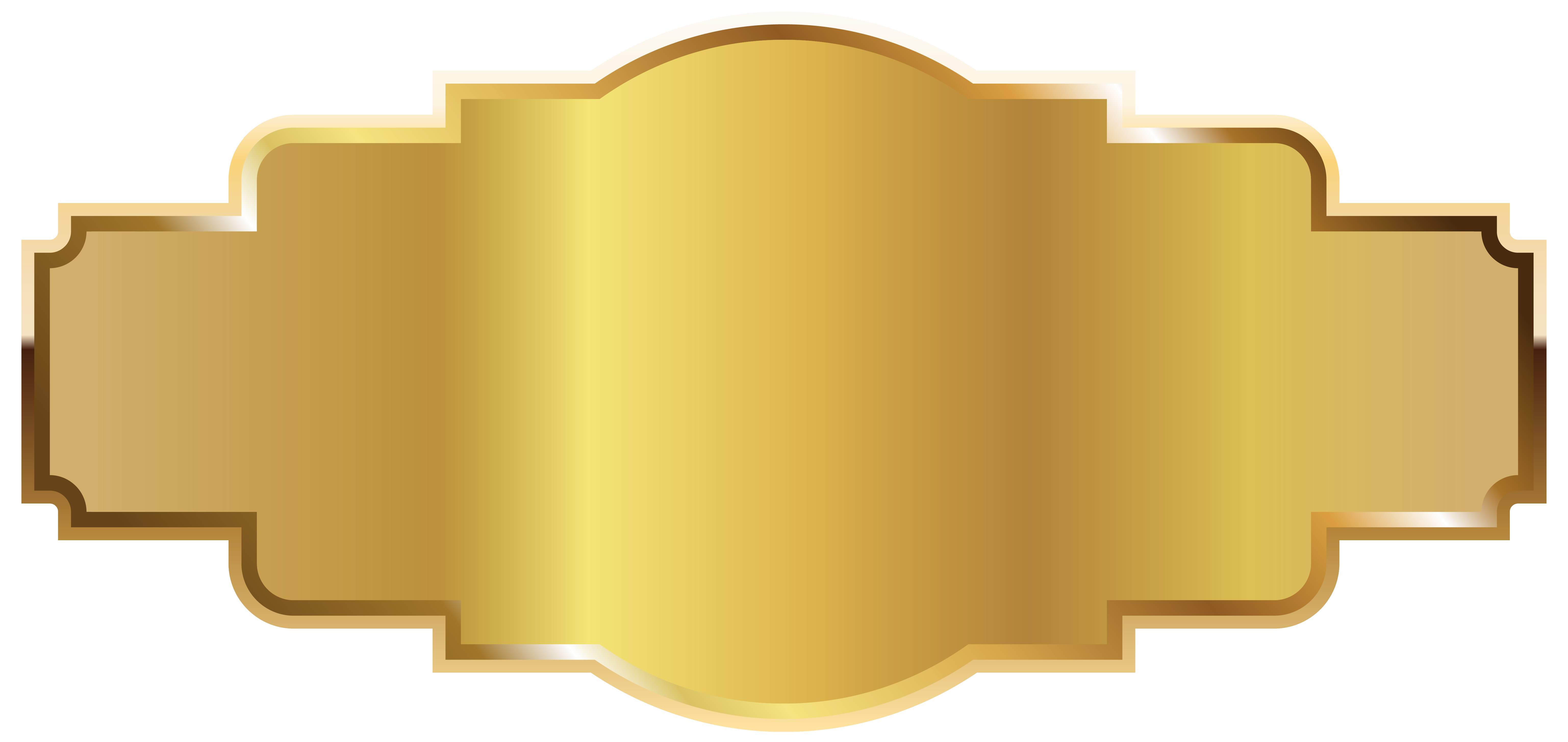 Trophy Label Template