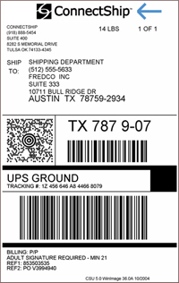 Ups Label Template Custom Documents