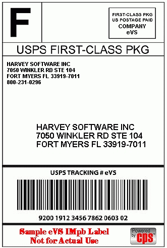 USPS Shipping Label Template Free Printable Download