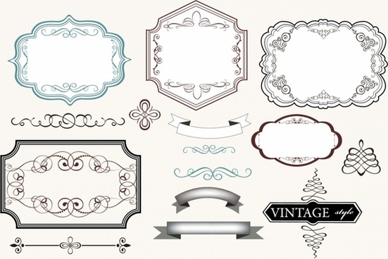 Vintage label and frame | Free printable | Pinterest | Vintage