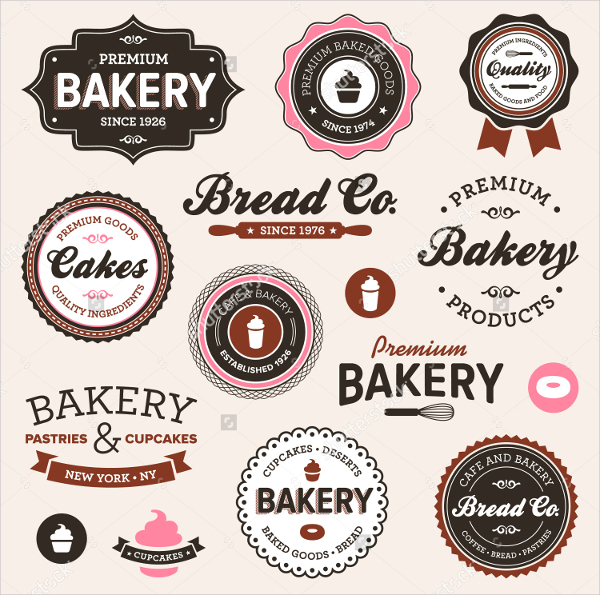 Vintage Label Templates Vector & Photo